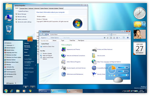 Download Windows 7 Theme for XP