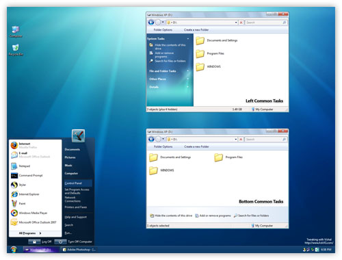 Windows 7 Styles for Windows XP