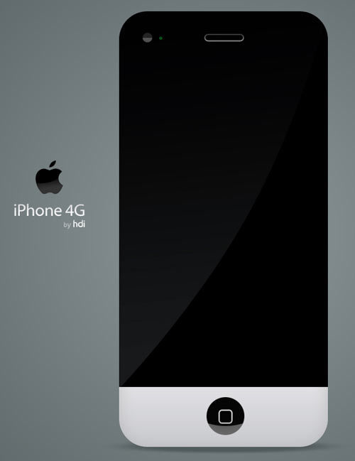 iPhone 4G Be Like iMac [Concept Design]